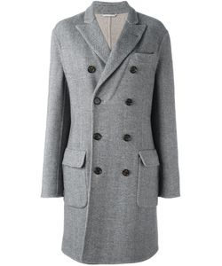 Brunello Cucinelli | Double Breasted Coat 50 Cupro/Cashmere/Wool