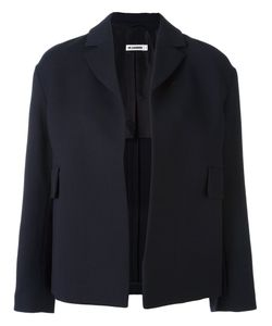 Jil Sander | Double Face Crepe Short Jacket 38