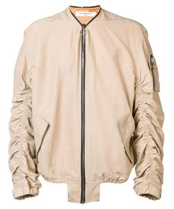 Mr. Completely | Shell Bomber Jacket Small Polyester/Silk/Cotton/Nylon