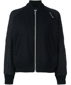 Sacai | Quilted Bomber Jacket 1 Cotton/Polyester/Wool