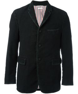 Thom Browne | Buttoned Jacket 1 Silk/Cotton/Cupro