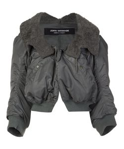 JUNYA WATANABE COMME DES GARCONS | Junya Watanabe Comme Des Garçons Ruched Bomber Jacket Small