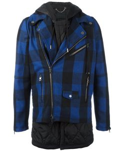 Diesel Black Gold | Jethron Hybrid Tartan Jacket 46 Cotton/Polyester/Wool
