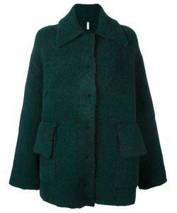 Boboutic   Single Breasted Coat Medium Polyamide/Spandex/Elastane/Mohair/Yak