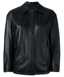 Jil Sander | Reversible Leather Jacket 36 Lamb Skin/Polyamide/Polyester