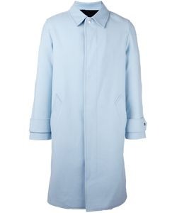 Ami Alexandre Mattiussi | Concealed Fastening Coat 48 Cotton/Polyamide/Polyester/Wool