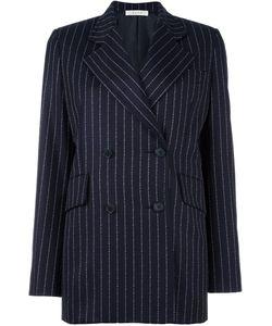 Alyx | Monogram Striped Blazer Medium Cupro/Wool