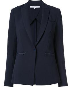 Veronica Beard | Zip Pocket Blazer 8 Polyester/Spandex/Elastane
