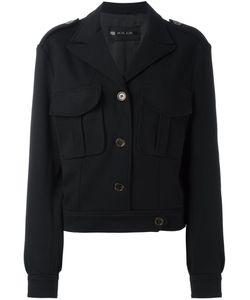 Michel Klein | Peaked Lapel Oversized Jacket 40 Acetate/Wool