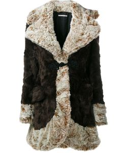 Alessandra Rich | Faux Fur Coat 40 Acrylic/Polyester/Viscose/Cupro