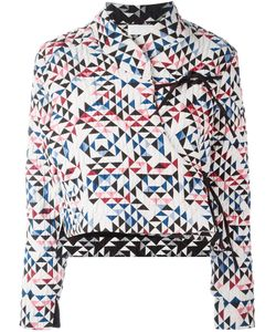 REALITY STUDIO | Soo Quilted Wrap Jacket Medium Cotton/Polyester