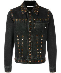 Givenchy | Embellished Denim Jacket Small Cotton