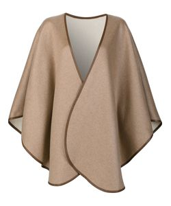 Sofia Cashmere | Cape Coat Leather/Cashmere
