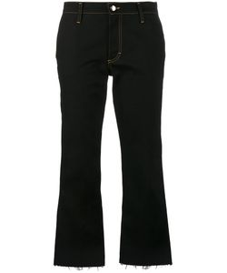 Jour/Né | Cropped Flared Jeans 38 Cotton/Spandex/Elastane