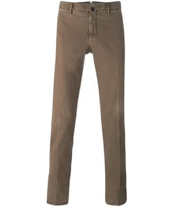 Incotex | Slim Fit Chinos 48 Cotton/Spandex/Elastane