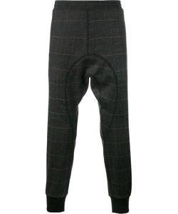 Neil Barrett | Check Print Sweatpants 46 Cotton/Polyamide/Spandex/Elastane/Virgin Wool