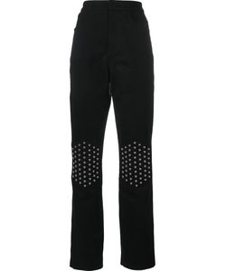 J.W. Anderson | J.W.Anderson Rounded Stud Knee Jeans 6 Cotton/Polyamide/Polyurethane