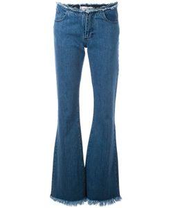 Marques Almeida | Marquesalmeida Frayed Hem Flared Jeans 6 Cotton
