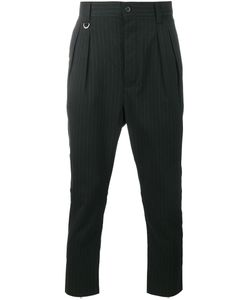 UNIFORM EXPERIMENT | Pinstripe Trousers 4 Polyester/Polyurethane/Rayon