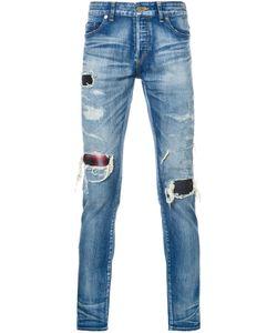 HL HEDDIE LOVU | Distressed Skinny Jeans Adult Unisex 29