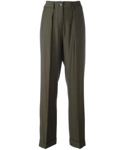 MM6 by Maison Margiela | Mm6 Maison Margiela Pleated Front Trousers 44 Viscose/Wool