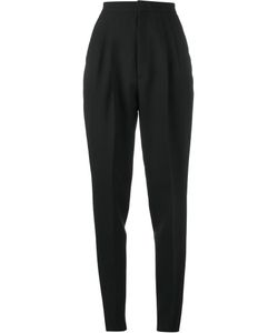 Saint Laurent | High Waist Trousers 34 Cotton/Mohair/Wool