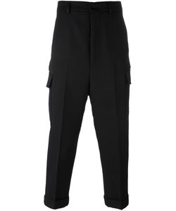 Ami Alexandre Mattiussi | Cropped Cargo Trousers 40 Polyester/Wool