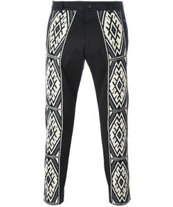 Ports | 1961 Ethnic Embroidery Trousers 52 Cotton/Spandex/Elastane