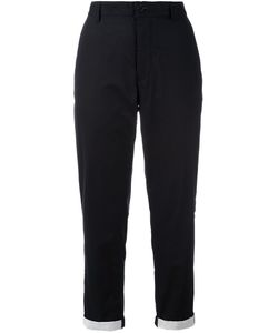 Ann Demeulemeester | Grise Tapered Cropped Trousers 40 Cotton