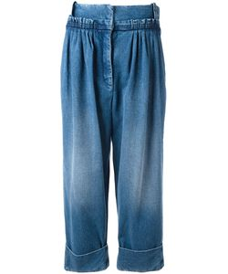 J.W. Anderson | J.W.Anderson Straight Fit Pleated Denim Trousers 10 Cotton