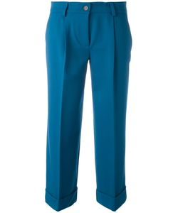 P.A.R.O.S.H.   Cropped Trousers Medium Spandex/Elastane/Virgin Wool