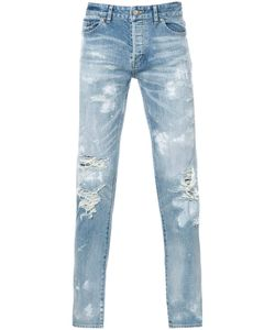 HL HEDDIE LOVU | Distressed Skinny Jeans Adult Unisex 30