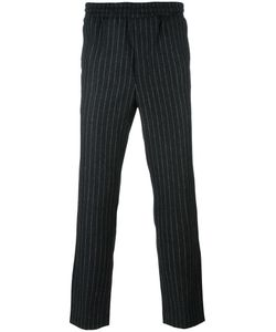 Ami Alexandre Mattiussi | Pinstripe Trousers 36 Polyamide/Polyester/Wool