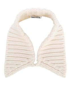 Arthur Arbesser | Cable Knit Collar Virgin Wool