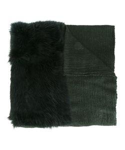 CUTULI CULT | Fur Panel Micromodal Blend Scarf Modal/Wool/Possum Fur