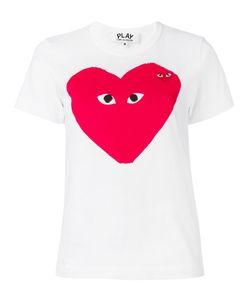 Comme des Gar ons Play | Comme Des Garçons Play Logo Print T-Shirt Small