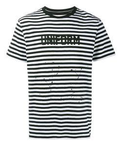 UNIFORM EXPERIMENT | Striped T-Shirt 1 Cotton