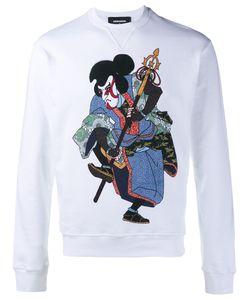 Dsquared2   Samurai Print Sweatshirt Xs Cotton