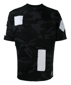 UNIFORM EXPERIMENT | Patched Camouflage T-Shirt 3 Cotton