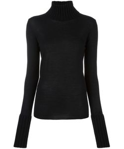 Simone Rocha | Ribbed Detailing Pullover Large Silk/Cashmere/Wool/Merino