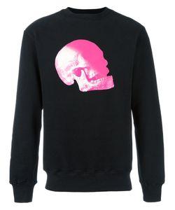 Cy Choi   Skull Print Sweatshirt Large Cotton/Polyester