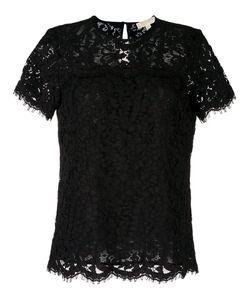Michael Michael Kors | Lace T-Shirt Large Cotton/Nylon/Polyester/Viscose