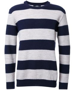 HL HEDDIE LOVU | Striped Jumper Large Wool