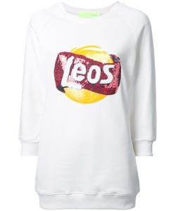 LEO | Branded Oversized Sweatshirt Small Cotton