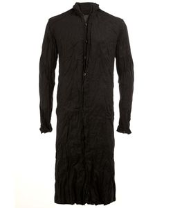 A NEW CROSS | Mandarin Neck Long Shirt Medium