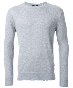 HL HEDDIE LOVU | Damaged Jumper Small Cotton/Nylon/Rayon/Wool