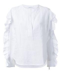 Georgia Alice | Ruffled Shirt 10 Linen/Flax