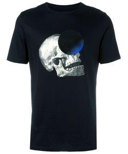 Cy Choi | Skull Print T-Shirt Medium Cotton