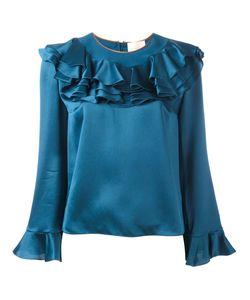 ROKSANDA | Frill Detail Blouse 10 Silk