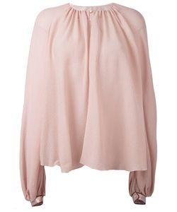 ROKSANDA | Collarless Blouse 10 Silk
